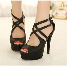 black ligh heel.sexy women's love