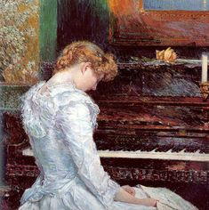 The Sonata, Childe Hassam