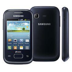 Celular Desbloqueado Samsung Galaxy Pocket Plus Duos Preto, por apenas R$399
