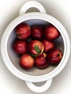 Nektariinin hedelmäliha on mehukas ja aromaattinen.
