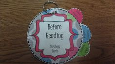 One Stop Teacher Shop BLOG: Just Love My Reading Strategy Cards!