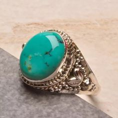 Jewelry - Natural Turquoise Ring