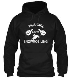 This Girl Loves Snowmobiling: Exclusive!