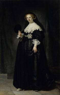 Oopjen Coppit by Rembrandt van Rijn via DailyArt mobile app