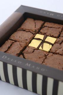 Dello Mano, New Farm Brisbane. Best brownies according to Oprah and Ashton Kutcher