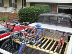 How To Build A Bike Rack For A Pickup Truck Bicycling