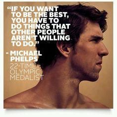 - Michael Phelps
