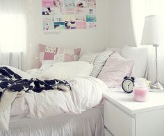 Love the white brightness about this room