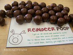 For the kids.... Reindeer Poop! :)