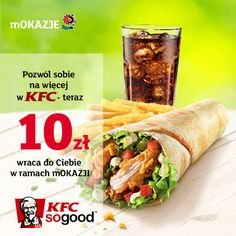 Zjedz w KFC, a 10 zł do Ciebie wróci dzięki mOKAZJOM #zakupy #mokazje #mbank #kfc