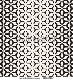 Vector seamless pattern. Modern stylish texture. Repeating geometric tiles. Halftone from triangles.