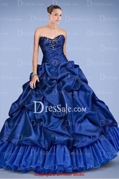 Gorgeous Sweetheart Quinceanera Gown Featuring Beaded Accents and Pick-ups