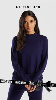 fbbe74766b49 A stylish, yet cosy look for this Christmas. The Isla Knit Sweater has a