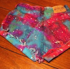 Galaxy Shorts (ETSY)