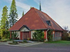 Someron kirkon läheinen siunauskappeli. Kuva: MV/RHO Minna Pesu 2007