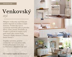 Venkovský styl - Country style