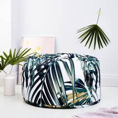 Are you interested in our botanical print homewares? With our adult beanbag you need look no further.