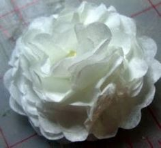 "coffee filter flowers - how to make them, color them and ideas how to use them tutorial ""squidoo"""