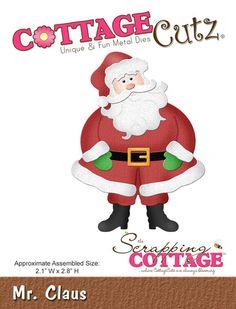 CottageCutz Mr. Claus