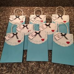 Alice in Wonderland Inspired Party Favor Goodie Bags Through