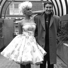 8. Vintage Style icon:  Paula Yates (retro mixed with punk)  #modcloth #wedding