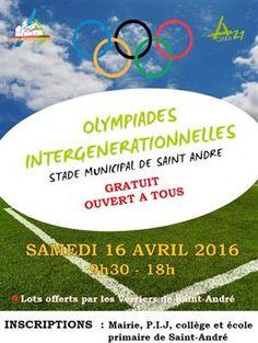 Olympiades Intergénérationnelles à Saint André