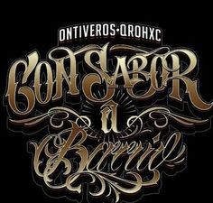 Chicano Lettering Chicano Lettering, Tattoo Lettering Fonts, Font Art, Graffiti Lettering, Typography, Arte Lowrider, Writing Fonts, Aesthetic Pastel Wallpaper, Chicano Art