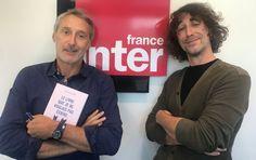 Antoine de Caunes et Erwan Larher