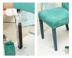 Dwa Ptaszki: Zmień oblicze mebla farbą kredową - Annie Sloan Annie Sloan, Chalk Paint, New Art, Diy Furniture, Couch, Chair, Painting, Home Decor, Ideas