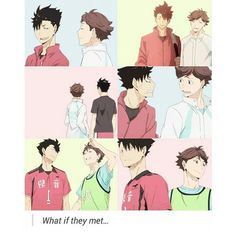 funny haikyuu oikawa kuroo // I wish they do because god bless the day if it ever happens