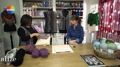 Alize Angora Gold Batik ile Yelek Yapımı -Making Knitting Vest with Aliz...