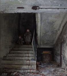 As sombrias ilustrações de terror inspiradas em uma viagem a Chernobil de Stefan Koidl