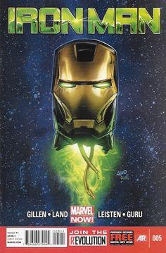 Iron Man # 5 Marvel Now! Vol 5