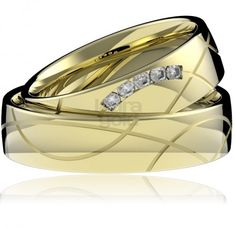 svadobné obrúčky - 762 Laura Gold, Couple Rings, Collection, Fashion, Moda, Fashion Styles, Fashion Illustrations
