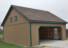 Raised Roof Garage