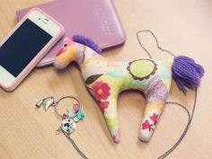 Lovely Pink Horse Toy