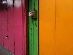 Colourful Shop shutters, port of Spain, #Trinidad