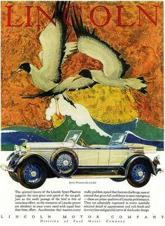 1910 - 1920 Lincoln Speed Phaeton