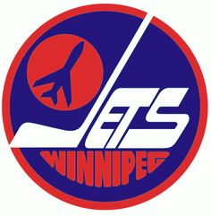 Winnipeg Jets Primary Logo on Chris Creamer's Sports Logos Page - SportsLogos. A virtual museum of sports logos, uniforms and historical items. Nhl Logos, Hockey Logos, Sports Team Logos, Sports Teams, Jets Hockey, Hockey Teams, Ice Hockey, Hockey Stuff, Hockey Rules