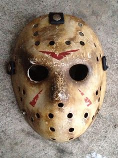 Ghoulish Creations Jason Voorhees remake mask.