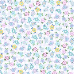D046 - Little Flowers - Fabricart Tecidos - Estampa Digital