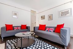 2 bedroom home in the heart of Marylebone, London.