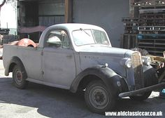 Australian Bedford/Vauxhall Coupe Ute in Britain.