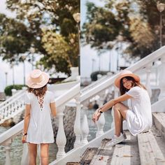 How To Do Casual In Little White Dresses?