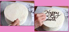 Truco de cocina: Cómo escribir en un pastel (pineado por @OrgulloWine)