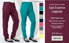 https://flic.kr/p/KwtSdo | Multipurpose Cotton Blend Leggings- EastEssence | Shop for the multipurpose leggings at…
