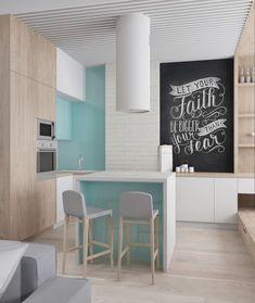 Фотография: Кухня и столовая в стиле Лофт, Минимализм – фото на InMyRoom.ru