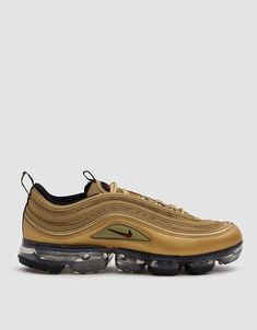 sale retailer 13cbc bfa85 Nike VaporMax 97 Metallic Gold Is Coming Soon   Nike   Nike air vapormax, Nike  gold, Sneakers nike