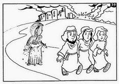 Cheila Pinturas e Escolinha Bíblica: Mulher de Ló