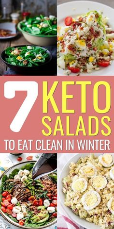 Keto  salad recipes,